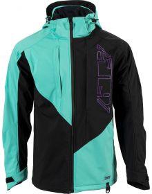 509 Tactical Elite Softshell Jacket Teal Black