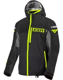 FXR Carbon Trilaminate Jacket Black/Hi Vis