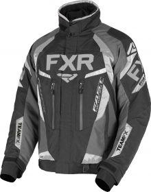 FXR Team FX Jacket Black/Char/Ti