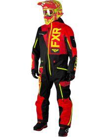FXR Ranger Instinct Lite Monosuit Black/Red/Hi Vis
