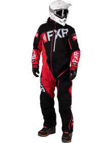 FXR Ranger Instinct Lite Monosuit Black/Red/Light Grey