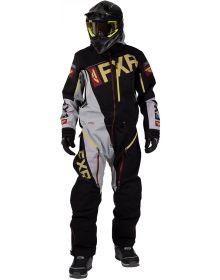 FXR Ranger Insulated Monosuit Black/Grey/Rust/Gold