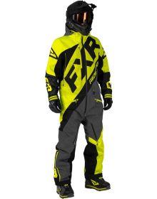 FXR CX F.A.S.T Insulated Monosuit Hi Vis/Black/Charcoal