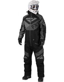 FXR Fuel FX Monosuit Black/Charcoal/Grey
