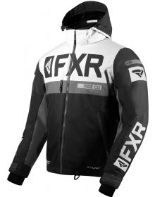 FXR Helium X Jacket Black/White/Charcoal