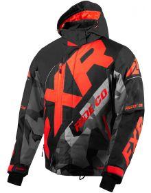 FXR CX Jacket Black/Charcoal Camo/Lava
