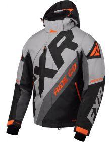 FXR CX Jacket Grey/Black/Charcoal/Orange