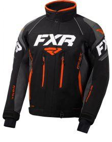 FXR Adrenaline Jacket Black/Charcoal/Orange