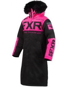 FXR Warm Up Womens Jacket Black/Electric Pink