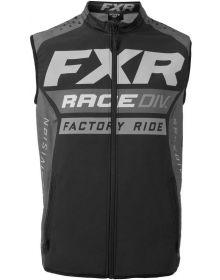 FXR MX Vest Black/Charcoal/Grey