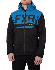 FXR Helium Ride Softshell Jacket Black/Blue