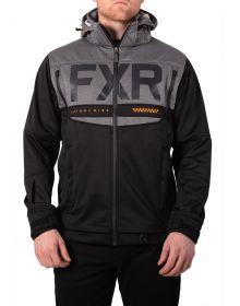 FXR Helium Ride Softshell Jacket Black/Orange