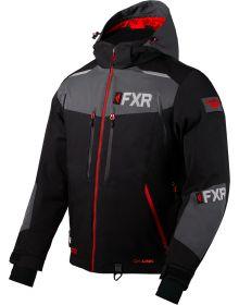 FXR Renegade Softshell Jacket Black/Red