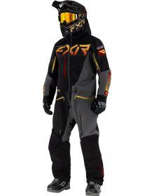 FXR Ranger Instrinct Lite Monosuit Black/Charcoal/Gold/Rust