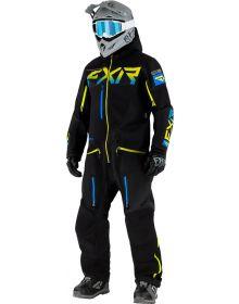 FXR Ranger SX Pro Lite Monosuit Black/Blue/Hi-Vis