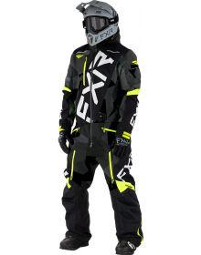 FXR CX FAST Insulated Monosuit Char Camo/Black/Hi-Vis/Grey