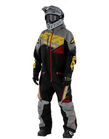 FXR CX FAST Insulated Monosuit Black/Charcoal/Gold/Rust