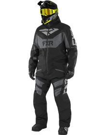 FXR Fuel FX FAST Insulated Monosuit Black/Charcoal/Grey
