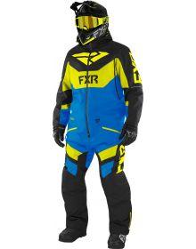 FXR Fuel FX FAST Insulated Monosuit Black/Blue/Hi-Vis