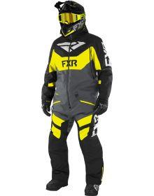 FXR Fuel FX FAST Insulated Monosuit Black/Charcoal/Hi-Vis/Grey