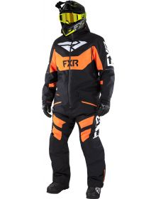 FXR Fuel FX FAST Insulated Monosuit Black/Orange/White