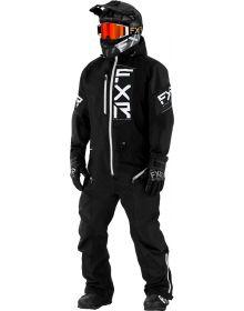 FXR Recruit Lite Monosuit Black/White