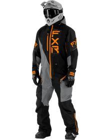 FXR Recruit Lite Monosuit Black/Grey/Orange