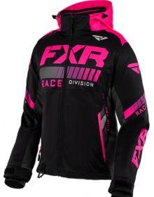 FXR RRX Womens Jacket Black/Elec Pink/Charcoal