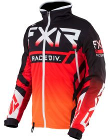 FXR Cold Cross RR Jacket Black/Red/Orange