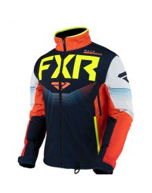 FXR Cold Cross RR Jacket Navy/Nuke/Hi-Vis