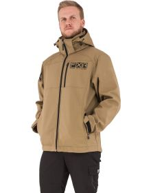 FXR Task Softshell Jacket Canvas/Black
