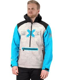 FXR Maverick Softshell Jacket Blue/Bone