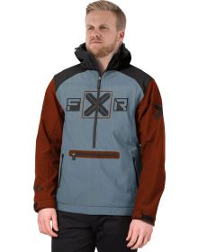 FXR Maverick Softshell Jacket Steel/Rust