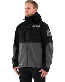 FXR Vapor Pro Tri-Laminate Jacket Black/Charcoal