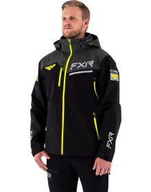 FXR Renegade Tri-Laminate Jacket Black/Hi-Vis