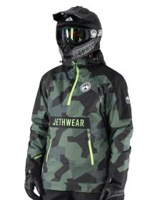 Jethwear Flight Anorak Jacket Forest Camo