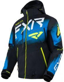 FXR 2022 Boost FX Snowmobile Jacket Black/Blue/Hi Vis