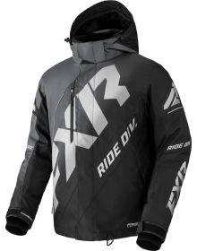 FXR 2022 CX Snowmobile Jacket Char-Black Fade/Lt Grey