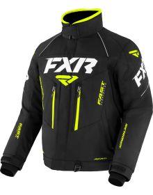 FXR 2022 Adrenaline Snowmobile Jacket Black/Hi Vis