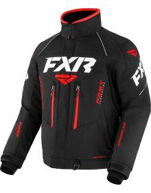 FXR 2022 Adrenaline Snowmobile Jacket Black/Red