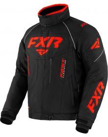 FXR 2022 Octane Snowmobile Jacket Black/Red