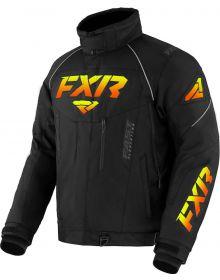 FXR 2022 Octane Snowmobile Jacket Black/Inferno