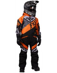 FXR Fuel Youth Monosuit Black/Charcoal/Orange