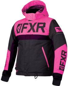FXR Helium Toddler Jacket Black/Electric Pink/Plum