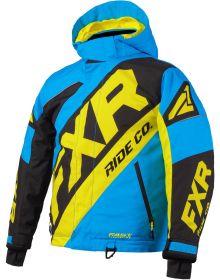 FXR CX Toddler Jacket Blue/Black/Hi Vis