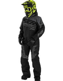 FXR Boost Youth Monosuit Black Ops