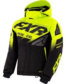 FXR Boost Youth Jacket Black/Hi-Vis