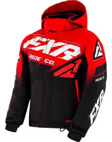 FXR Boost Youth Jacket Black/Red/White