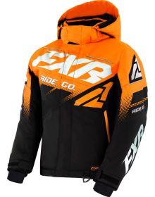 FXR Boost Youth Jacket Black/Orange/White