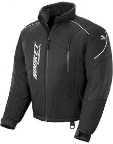 Rocket Snow Gear Storm XC Youth Snowmobile Jacket Black/Black